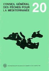 Conseil general des peches pour la mediterranee ; rapport de la 20e session 1993 - Couverture - Format classique