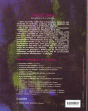 Anatomie ; introduction a la clinique ; t.1 anatomie generale - 4ème de couverture - Format classique