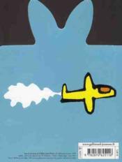 L'avion de Trotro - 4ème de couverture - Format classique