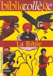 La Bible - Intérieur - Format classique