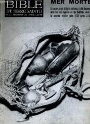 BIBLE ET TERRE SAINTE N°33 : MER MORTE