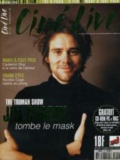 Cine Live - N° 18 - The Truman Show: Jim Carrey Tombe La Mask - Couverture - Format classique