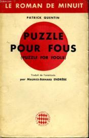 Puzzle Pour Fous - Puzzle For Fools - Couverture - Format classique