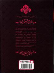 Lady Vampire T.1 - 4ème de couverture - Format classique