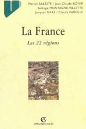 La France ; Les 22 Regions ; 5e Edition - Couverture - Format classique