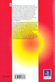 Le Monde Mediterraneen ; Themes Et Problemes Geographiques - 4ème de couverture - Format classique
