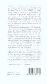 Honneur Au Fantassin G Conscrit En Meuse - 4ème de couverture - Format classique