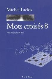 Mots croisés t.8 - Intérieur - Format classique