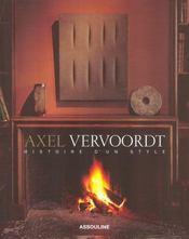 Axel Vervoordt ; histoire d'un style - Intérieur - Format classique