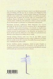 Vie Des Metiers (Une) - 4ème de couverture - Format classique