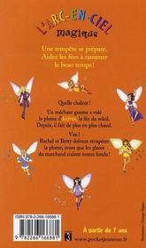 Les fées du ciel t.4 ; Aurore la fée du soleil - 4ème de couverture - Format classique