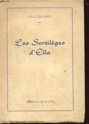 Les Sortileges D'Ella - Couverture - Format classique