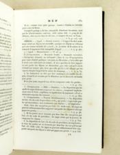 Table décennale du Journal des Arrêts de la Cour Royale de Bordeaux, comprenant, par ordre alphabétique, toutes les décisions intervenues en matière civile, commerciale, correctionnelle et de procédure, rapportées audit Journal, de 1826 à 1835 inclusivement. - Couverture - Format classique