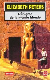 L'enigme de la momie blonde - inedit - Intérieur - Format classique