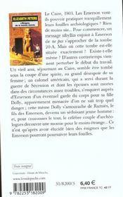 L'enigme de la momie blonde - inedit - 4ème de couverture - Format classique