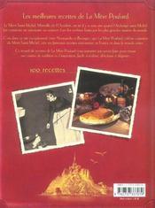 La Mère Poulard, secrets de cuisiniere - 4ème de couverture - Format classique