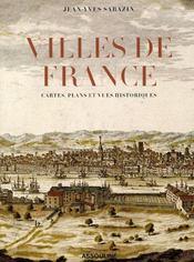 Villes de France - Intérieur - Format classique