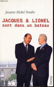 Jacques et lionel sont dans un bateau - Couverture - Format classique