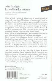 Meilleur Des Havanes (Le) - 4ème de couverture - Format classique
