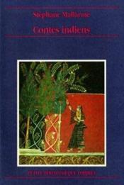 Contes indiens - Couverture - Format classique