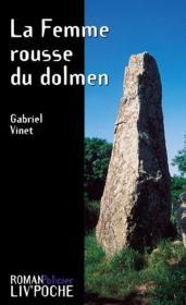 La femme rousse du dolmen - Couverture - Format classique