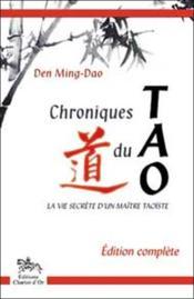 Chroniques du tao - Couverture - Format classique