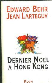 Dernier Noel A Hong Kong - Couverture - Format classique