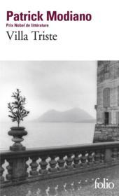 Villa triste - Couverture - Format classique