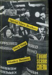 L'Avant-Scene Cinema N°305 / 306 - Special Marx Brithers - Duck Soup - Monkey Business... - Couverture - Format classique