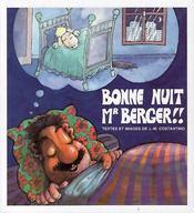 Bonne Nuit Mr Berger - Couverture - Format classique