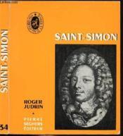 Saint-Simon - Collection D'Hier Et D'Aujourd'Hui N°34 - Couverture - Format classique
