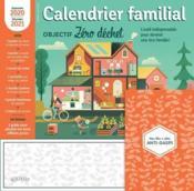 Calendrier familial ; objectif zéro déchet (édition 2020/2021) - Couverture - Format classique