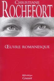 Oeuvre romanesque - Intérieur - Format classique