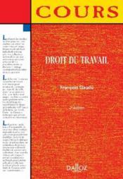 Droit du travail (2e édition) - Couverture - Format classique