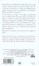 La Veuve De Saint Pierre - 4ème de couverture - Format classique
