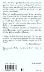 Le Voleur De Gouter - 4ème de couverture - Format classique
