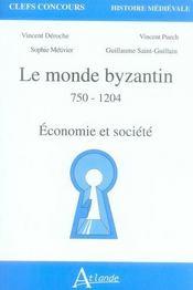 Le monde bizantin 750-1204 ; capes agreg - Intérieur - Format classique