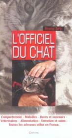 L'officiel du chat - Couverture - Format classique