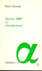 Dossier 2000 Et Christianisme - Couverture - Format classique