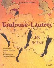 Toulouse-Lautrec en scène - Intérieur - Format classique