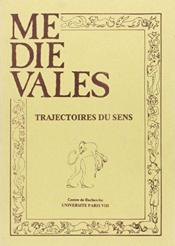 Revue Medievales N.3 ; Trajectoires Du Sens - Couverture - Format classique