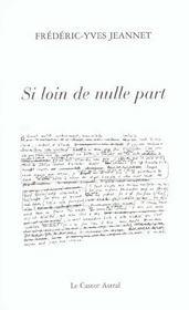 Si Loin De Nulle Part - Intérieur - Format classique
