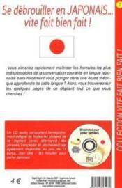 Se debrouiller en japonais vite fait - Couverture - Format classique