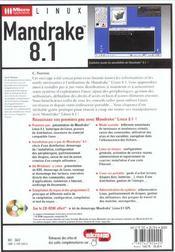 Ma. Mandrake 8.1 - 4ème de couverture - Format classique