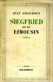 Siegfried Et Le Limousin. - Couverture - Format classique