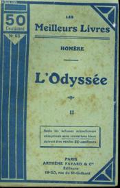 L'Odyssee Tome 2. Collection : Les Meilleurs Livres N° 65. - Couverture - Format classique