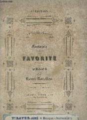 Fantaisie De Donizetti Pour Piano. - Couverture - Format classique