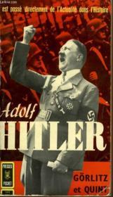 Adolf Hitler - Couverture - Format classique