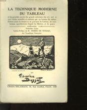 La Technique Moderne Du Tableau - Couverture - Format classique