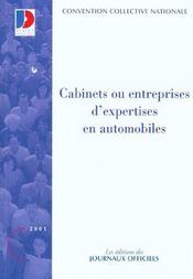 Cabinets ou entreprises d'expertises en automobiles - Intérieur - Format classique